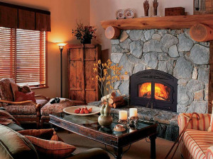 Stay warm with a fireplace from Fine's Gas!