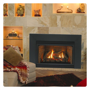Empire ventless gas fireplace