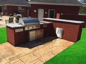 Outdoor Kitchen Remodel After
