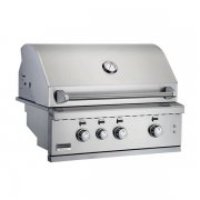 "Broilmaster Stainless 34"" Built-In Grill"