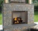 "42"" Castlewood Outdoor Wood Burning Fireplace"