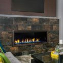 "Artisan 60"" Vent Free Linear Fireplace"