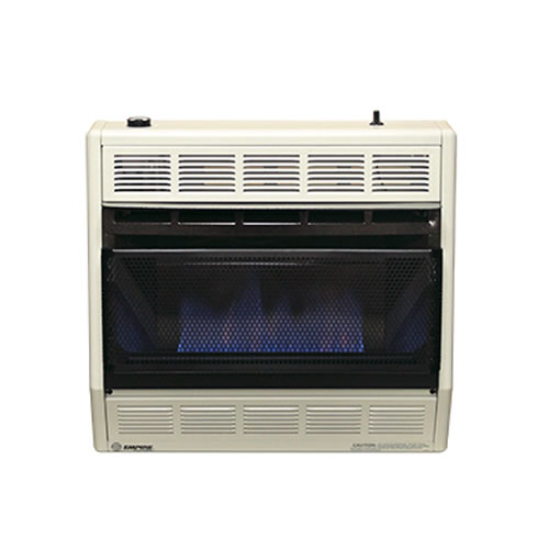 Empire Vent Free Gas Space Heater 30 000 Btu Blue Flame