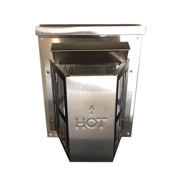 Heat N Glo Direct Vent Pipe DVP TRAP2 Fines Gas