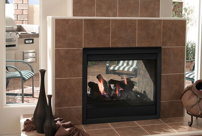 Majestic Twilight Indoor / Outdoor Gas Fireplace | Fine\'s Gas