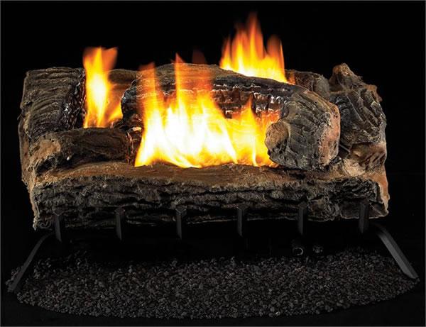 Vantage Hearth See Thru 27 Inch Vent Free Gas Log Remote