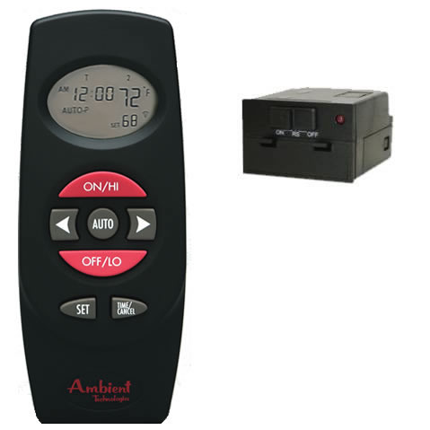 Gas Log Remote Control Thermostat With Timer Model Rct