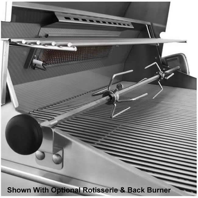 American outdoor grill post mount grill with interior lights american outdoor grill post mounted with interior lighting aloadofball Gallery