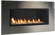 Stainless Steel Face for Artisan Fireplace