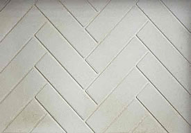 Biltmore Herringbone Fireplace Brick