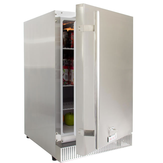 Blaze 20 outdoor kitchen refrigerator fine 39 s gas for Outdoor kitchen refrigerators built in