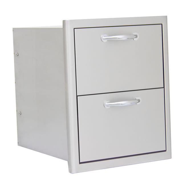 outdoor kitchen drawers outside blaze grills double outdoor kitchen drawers storage fines gas