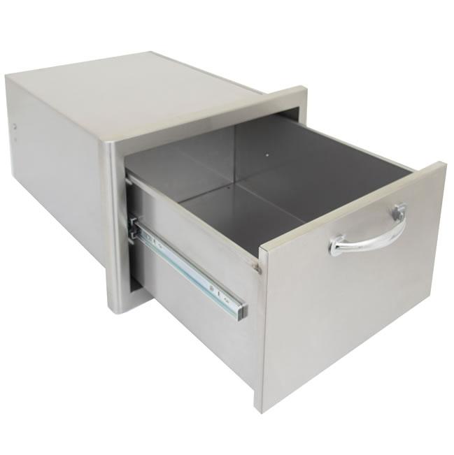 Blaze Grills Outdoor Kitchen Single Storage Drawer Fine 39 S Gas