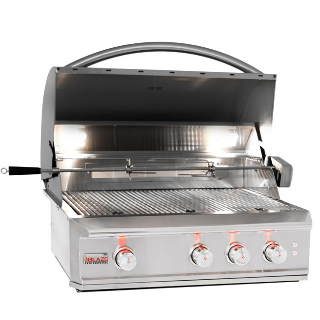 Blaze Grills Professional Series Built In Model Fine S Gas