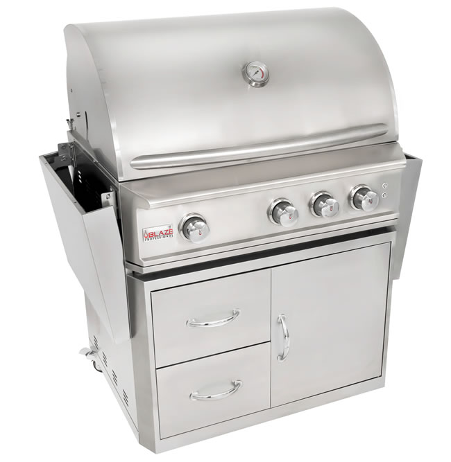 Blaze Grills Professional Series Portable Model Fine S Gas