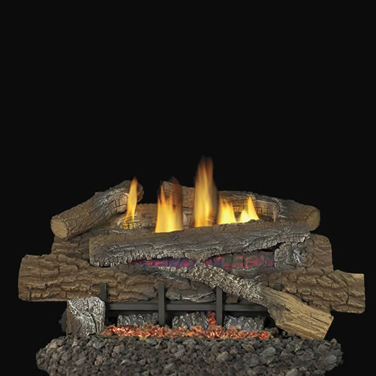 18 Inch Boulder Mountain Ventless Gas Logs