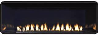 Boulevard Reflective Cobalt Blue Fireplace Liner