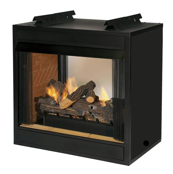 Breckenridge See Through Vent Free Fire Box | Fine's Gas