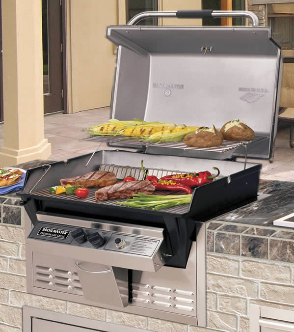 Broilmaster P3x Built In Grill Kit Fine S Gas