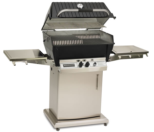 Broilmaster Gas Grill Model P3x With Storage Door Fine S Gas