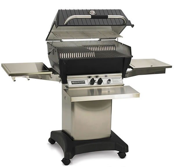 Broilmaster Grill Model P3X With Side Burner