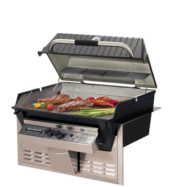 Broilmaster Hx3 Built In Grill Kit Fine S Gas