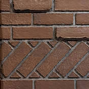 Deluxe Banded Brick Liner