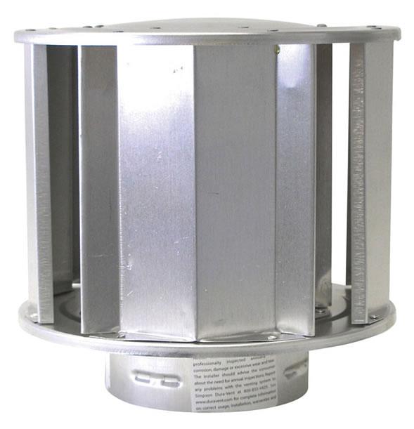 Dura Vent High Wind Vertical Termination Cap For 4 X 6 5 8