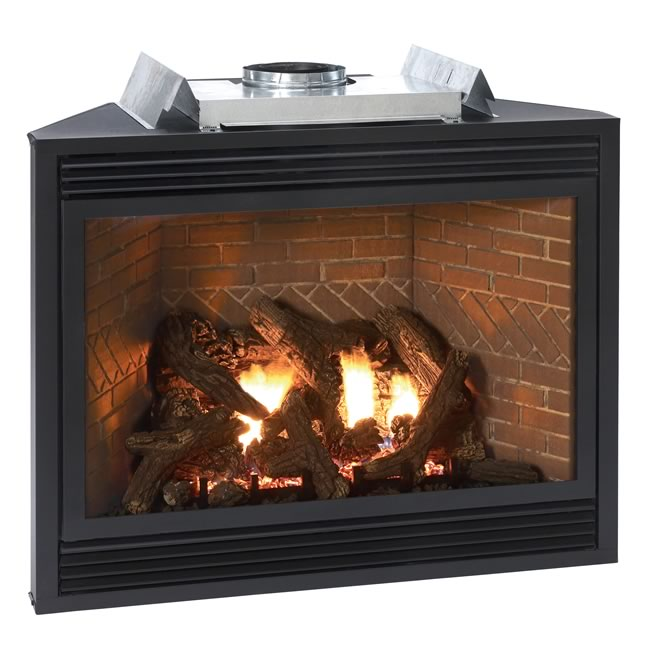 Tahoe Luxury 42 Inch Direct Vent Fireplace
