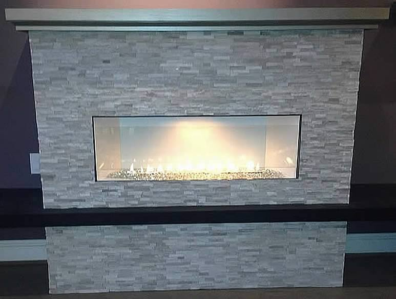 Boulevard Series Vent Free Linear Fireplace