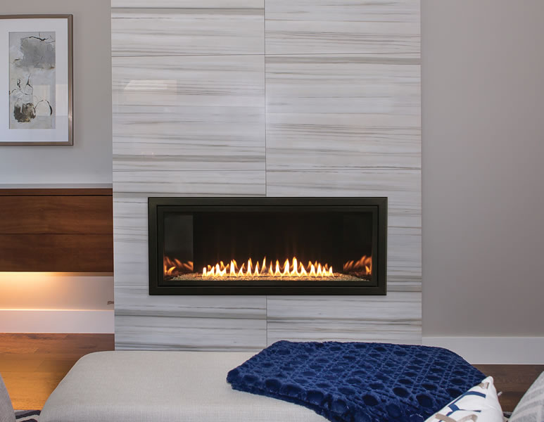 Boulevard Series Vent Free Linear Gas Fireplace by White Mountain Hearth With A Contemporary Style