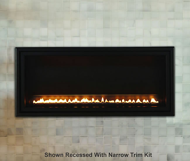 Boulevard SL Vent Free Linear Fireplace