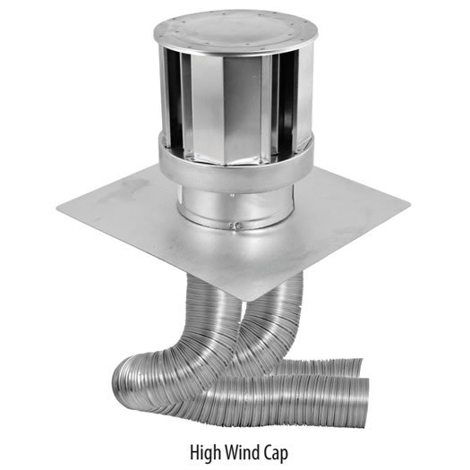 Direct Vent Insert Venting Kit With High Wind Cap Fine S Gas