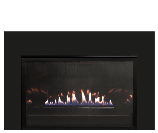 Empire Loft Series Vent-Free Fireplace System | Fine's Gas
