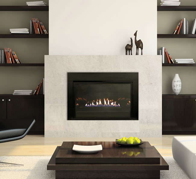 Empire loft series vent free fireplace system fine 39 s gas Loft fireplace