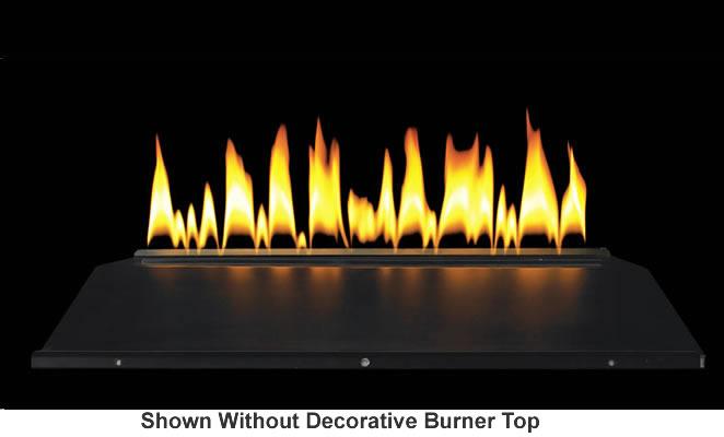 Empire Loft Series 30 Inch Vent Free Burner