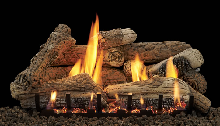 White Mountain Morgan Creek 18 Inch Vent Free Gas Log With