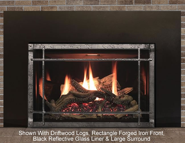 Rushmore 35 Direct Vent Fireplace Insert Fine S Gas