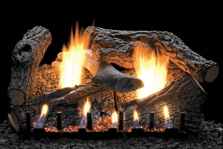 Empire Super Sassafras 30 Inch Vent Free Gas Log With