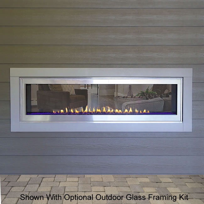 See Through Ventless Fireplace Inserts Fireplaces