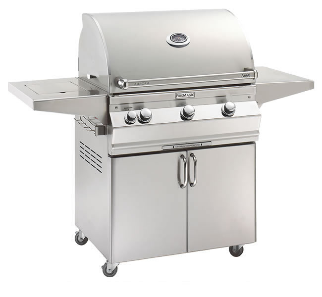 Fire Magic Grill A660s Aurora With Side Burner