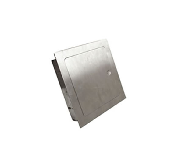 Recessed Access Door For Fire Pit Surround Enclosures