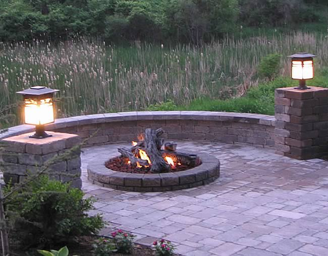 Deluxe 31 Inch Fire Pit Kit With Electronic Ignition