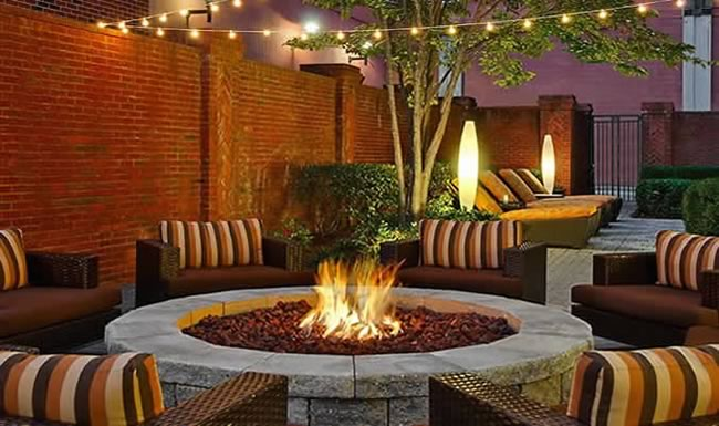 Deluxe 19 Inch Fire Pit Kit With Electronic Ignition