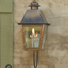 Outdoor gas lighting fines gas pier mount gas lights wall mount gas lights aloadofball Choice Image