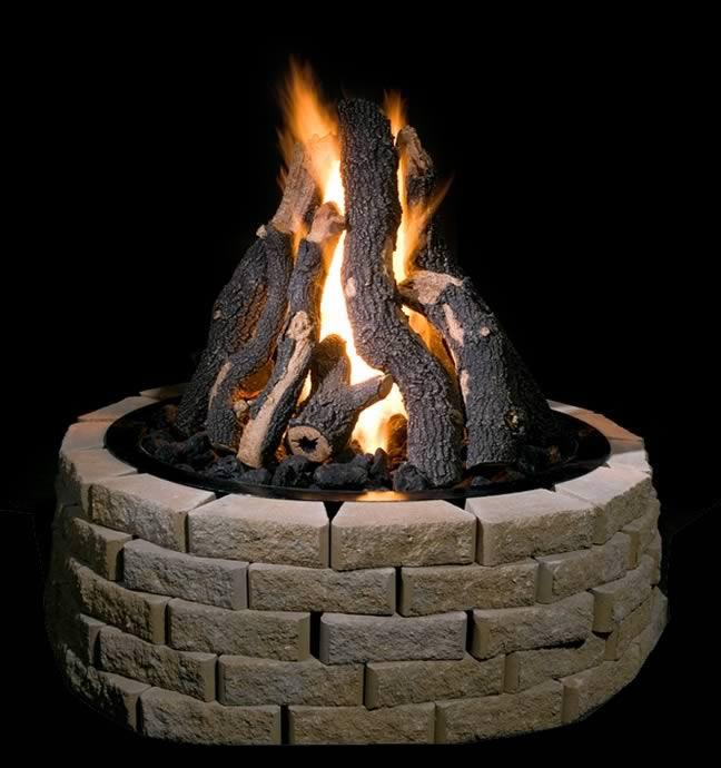 Golden Blount 36 Quot Grand Fire Pit Kit Fine S Gas