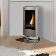 Direct Vent Free Standing Fireplaces and Stoves Fines Gas