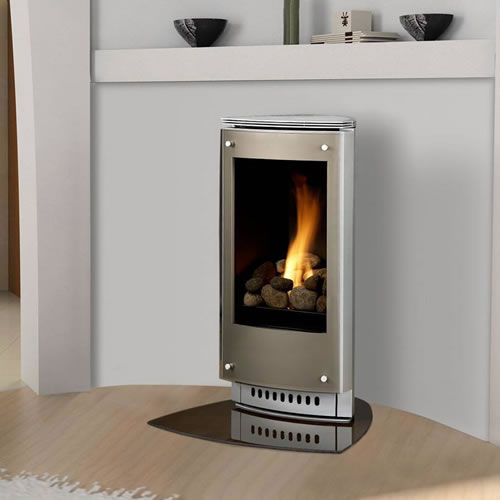 Heat-N-Glo Paloma direct vent stove.