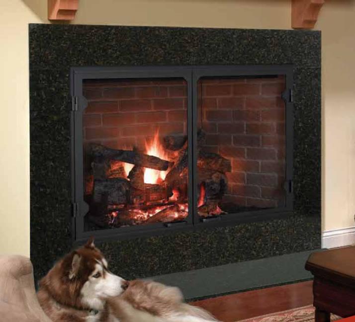 Heatilator Icon-100 50 Inch Wood Burning Fireplace