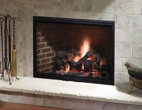 Heatilator Icon-60 36 Inch Wood Burning Fireplace